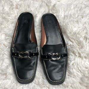 Cole Haan Black Nike Air Mules